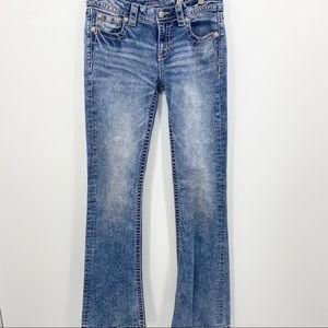 Miss Me Bootcut Rhinestone Embellished Jeans Sz 29